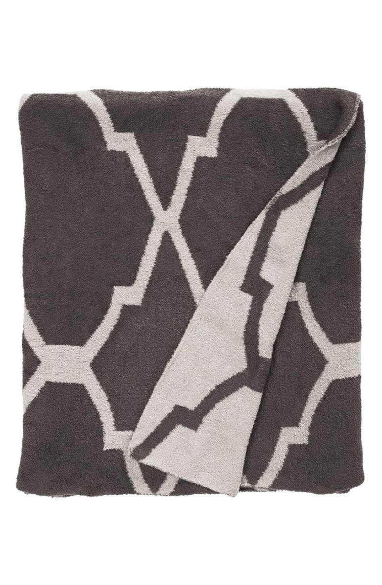 GIRAFFE AT HOME 'Moroccan Dolce' Throw, Main, color, CHOCOLATE/FLAX