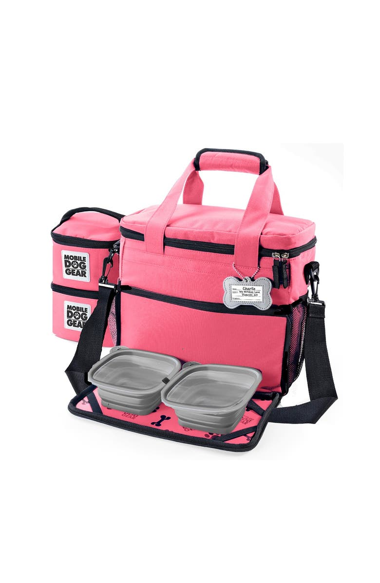 MOBILE DOG GEAR Week Away(R) Bag - Small Dogs - Pink, Main, color, PINK
