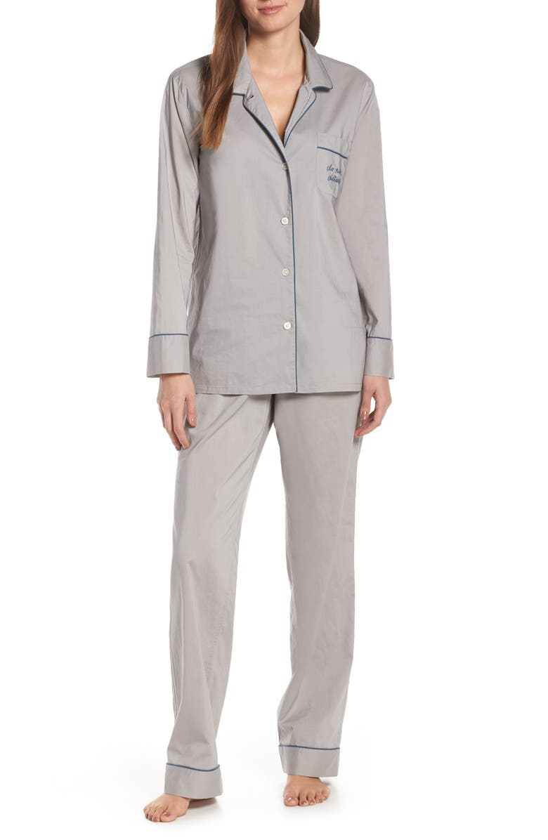 J.CREW Vintage Pajamas, Main, color, 020