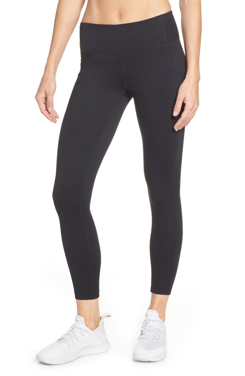 ZELLA Live In Pocket 7/8 Leggings, Main, color, 001