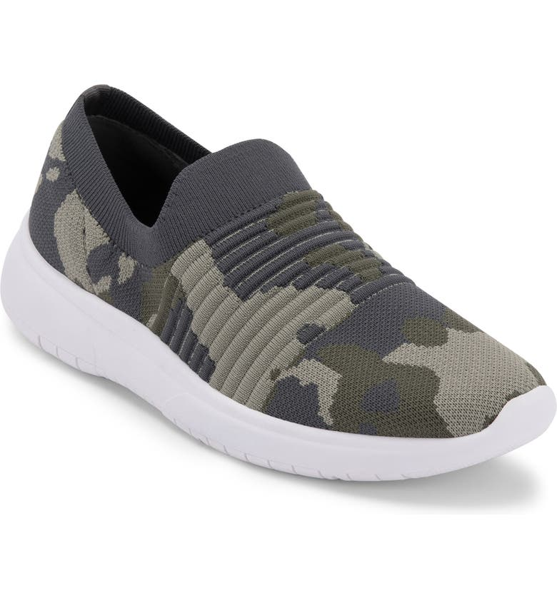 BLONDO Karen Waterproof Slip-On Sneaker, Main, color, CAMO FABRIC