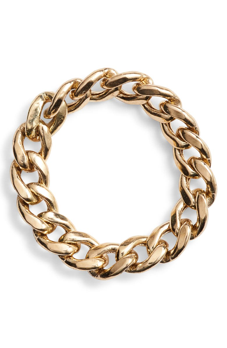 ZOË CHICCO Curb Chain Ring, Main, color, 710