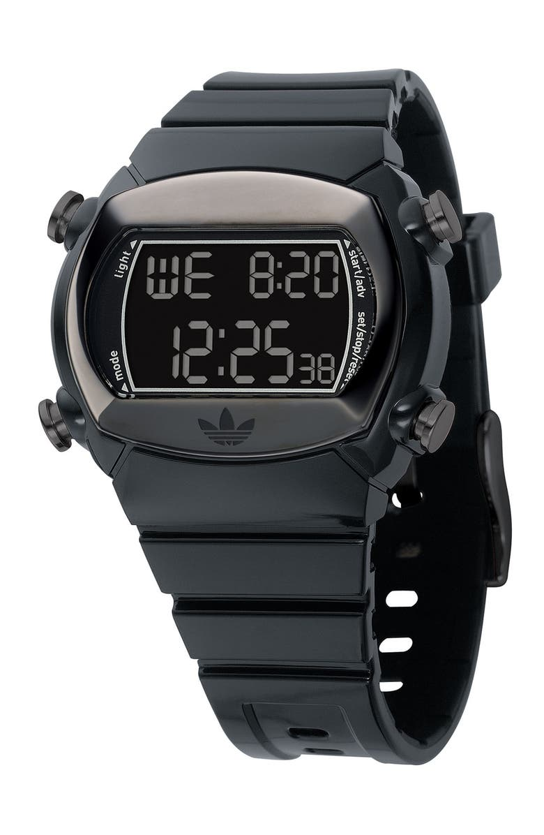 ADIDAS 'Candy Collection' Digital Watch, Main, color, 001