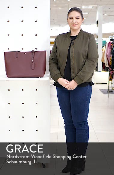 Zeda Faux Leather Tote, sales video thumbnail