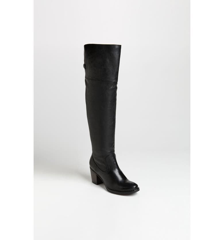 FRYE 'Lucinda Slouch' Over the Knee Boot, Main, color, 001