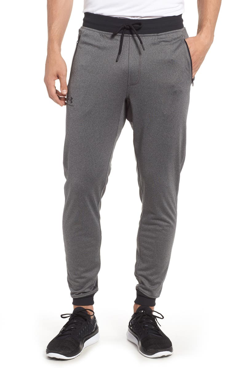 UNDER ARMOUR Sportstyle Zip Pocket Knit Joggers, Main, color, GREY