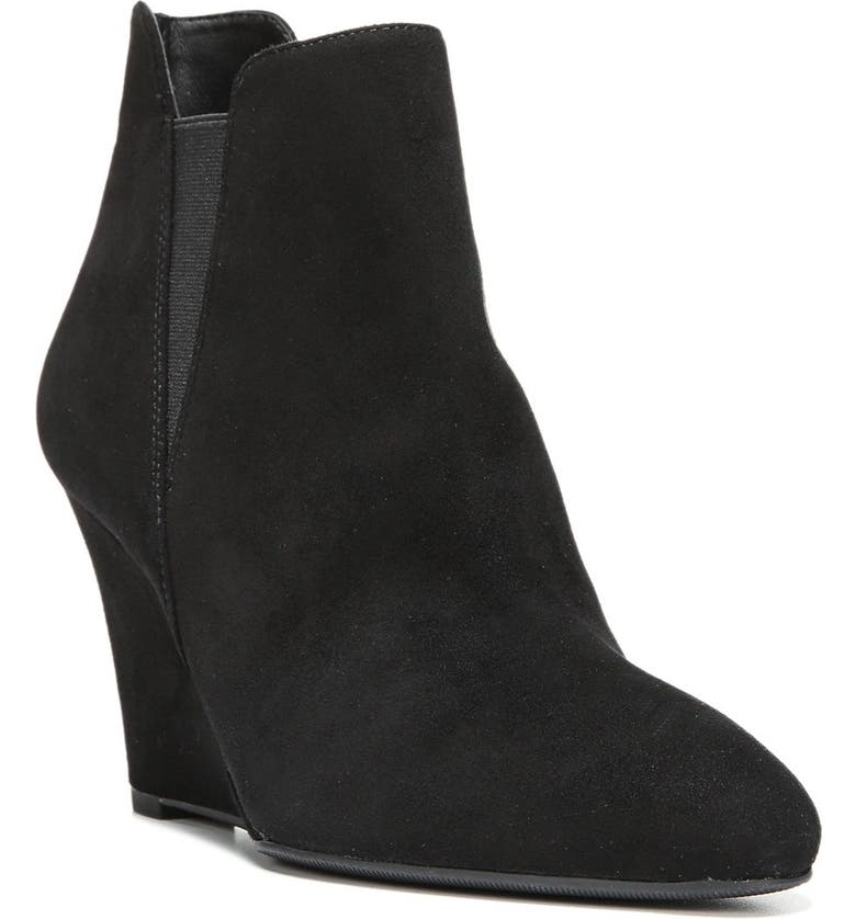 VIA SPIGA 'Kenzie' Wedge Bootie, Main, color, 002