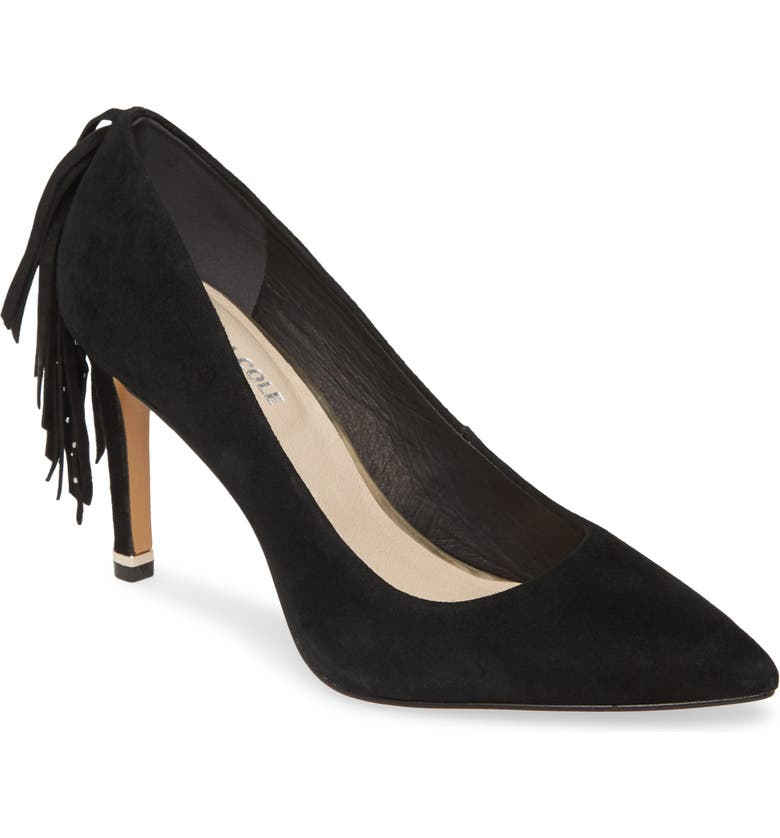 KENNETH COLE NEW YORK Riley Fringe Pump, Main, color, 001