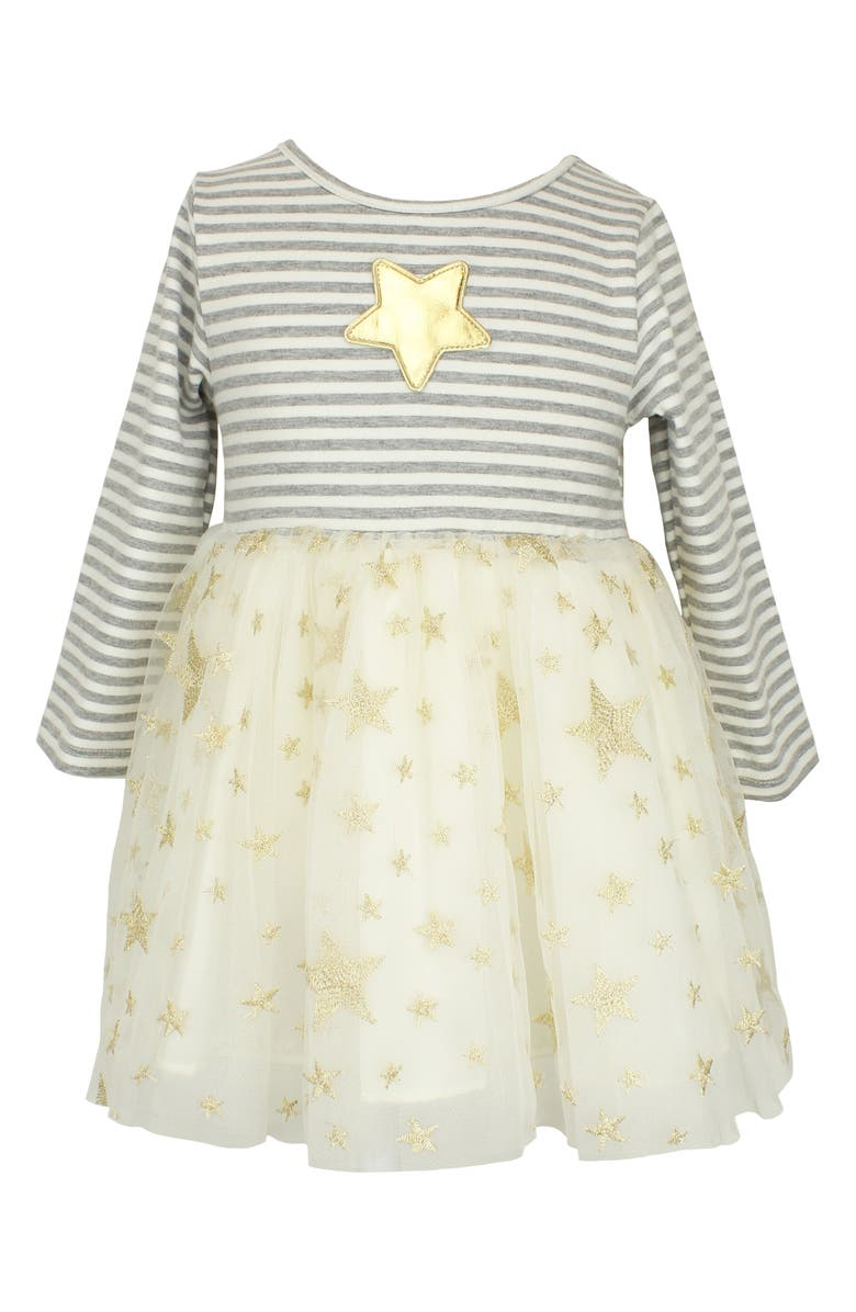 POPATU Stripe & Star Tulle Dress, Main, color, 902