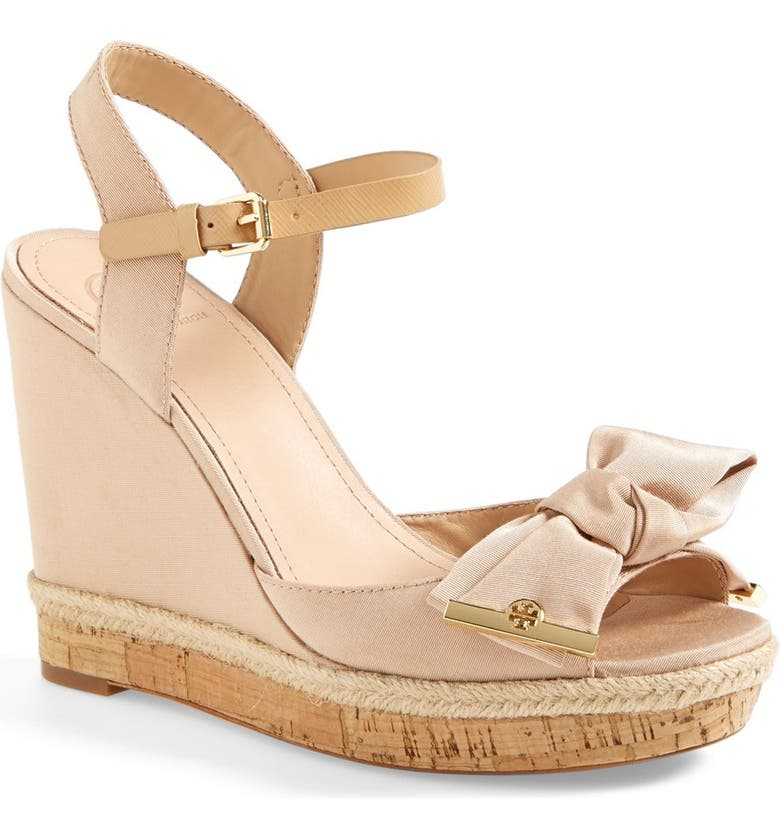 TORY BURCH 'Penny' Wedge Sandal, Main, color, 290