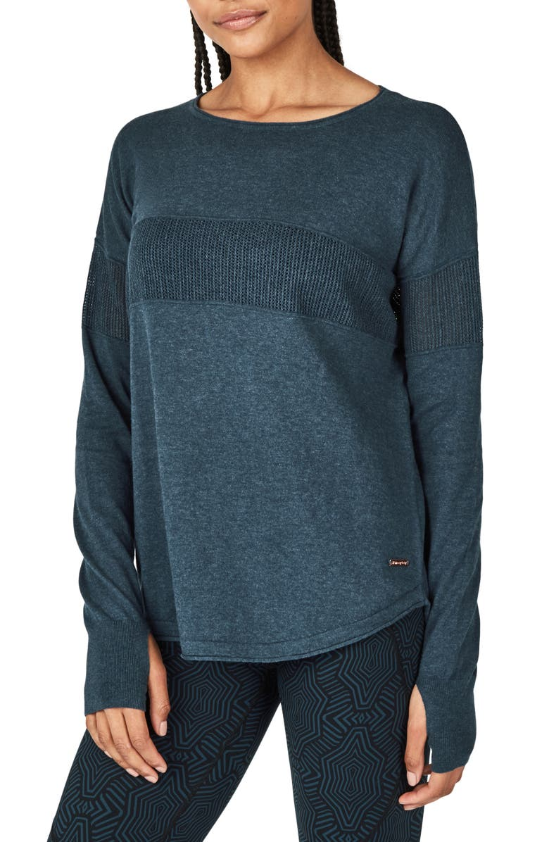 SWEATY BETTY Position Sweater, Main, color, 400