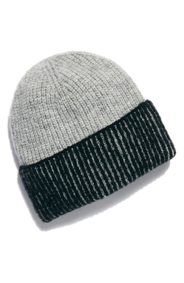 FREE PEOPLE Straight Chill Rib Beanie, Main, color, 002