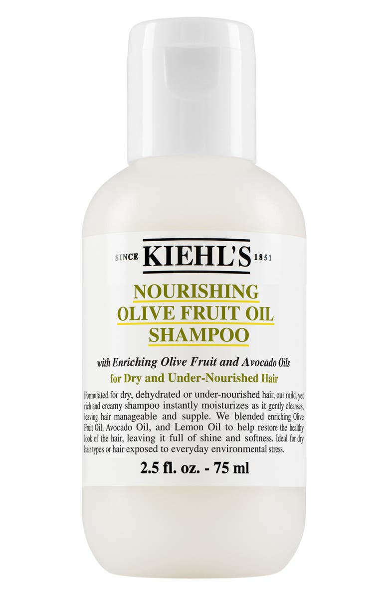 KIEHL'S SINCE 1851 Olive Fruit Oil Nourishing Shampoo, Main, color, NO COLOR