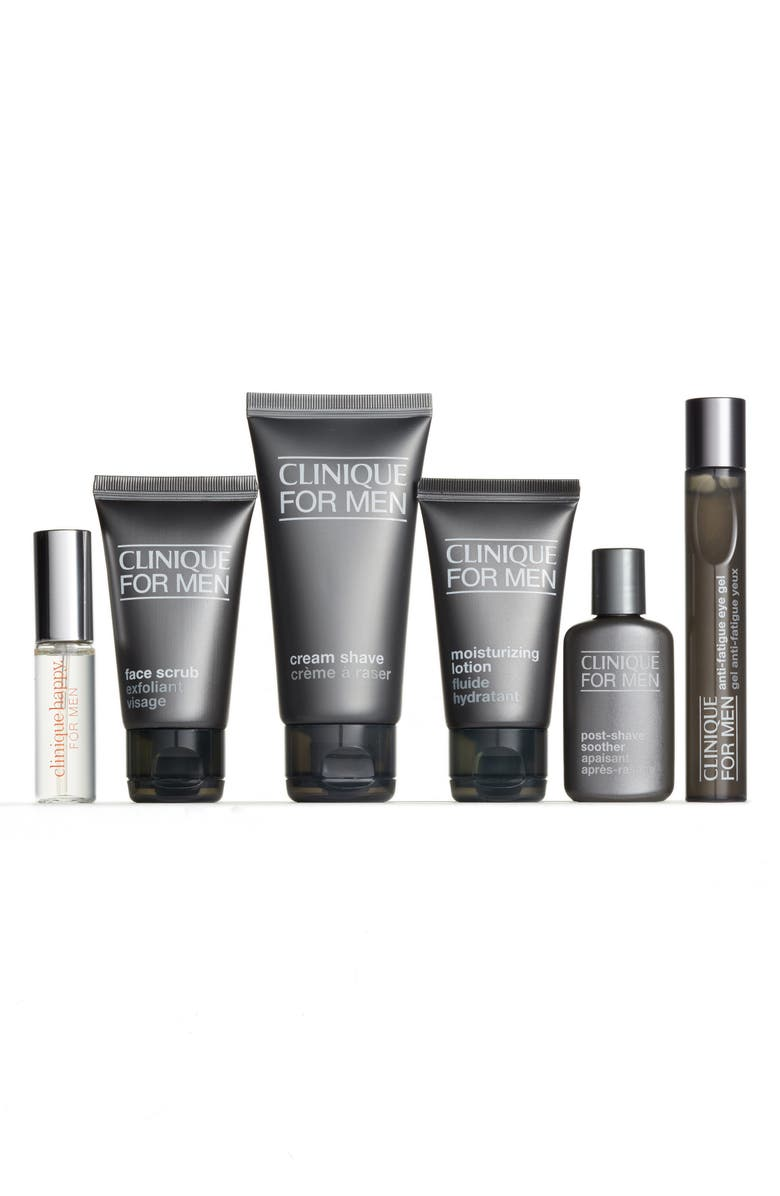 CLINIQUE AN TEST Clinique for Men Well Traveled Well Groomed Set, Main, color, 000