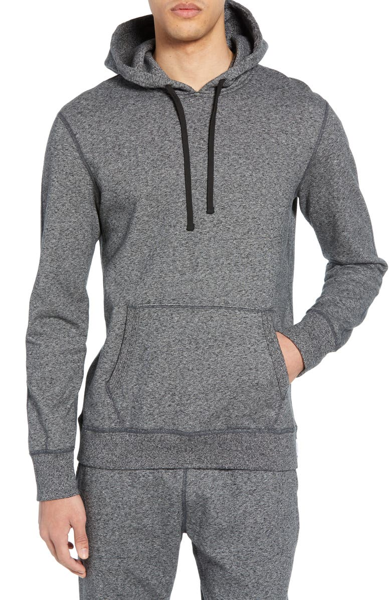 REIGNING CHAMP Trim Fit Hoodie, Main, color, 020