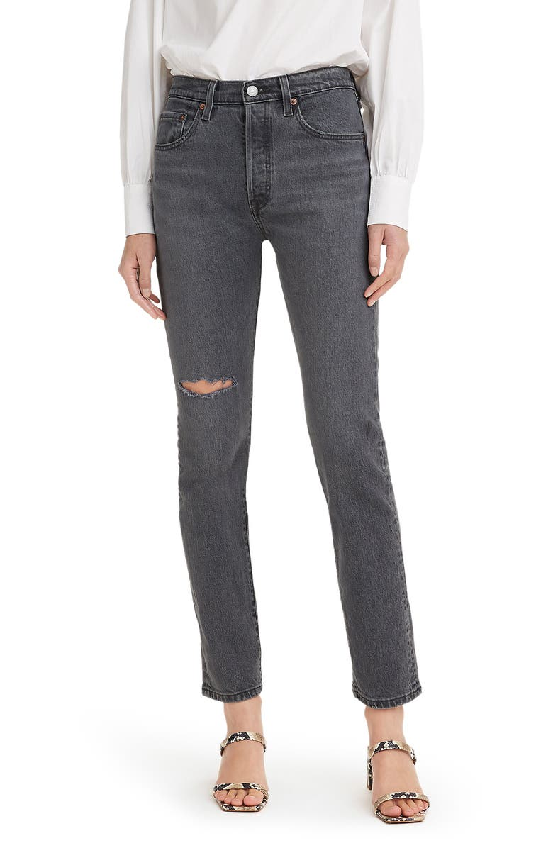 LEVI'S<SUP>®</SUP> 501<sup>®</sup> Skinny Jeans, Main, color, DARK SIDE OF THE MOON