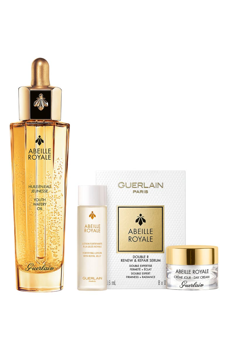 GUERLAIN Abeille Royale Anti-Aging Youth Watery Oil Set, Main, color, NO COLOR