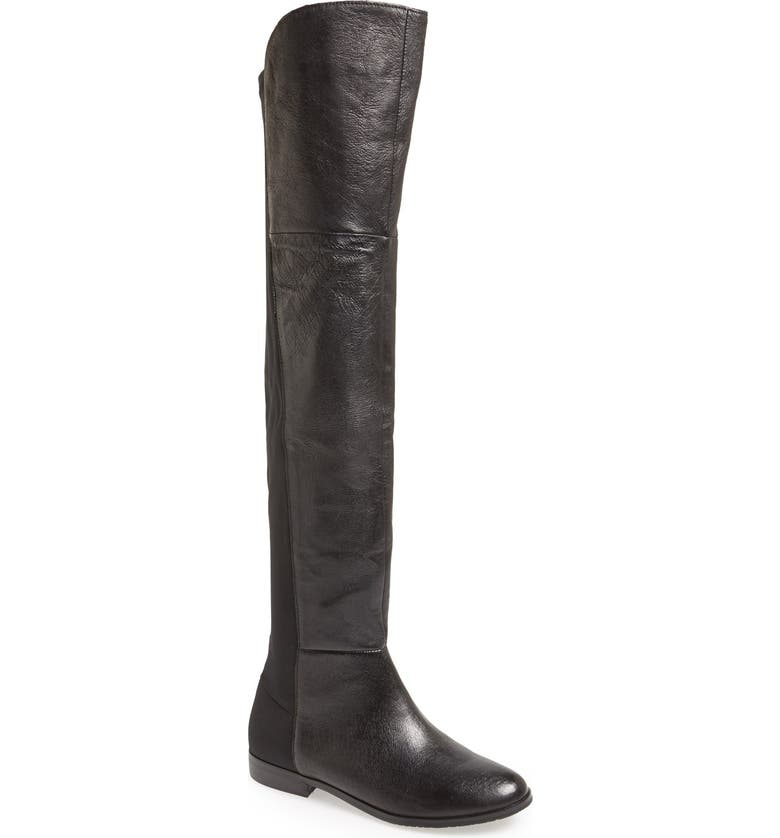 CHINESE LAUNDRY 'Riley' Over The Knee Boot, Main, color, 001