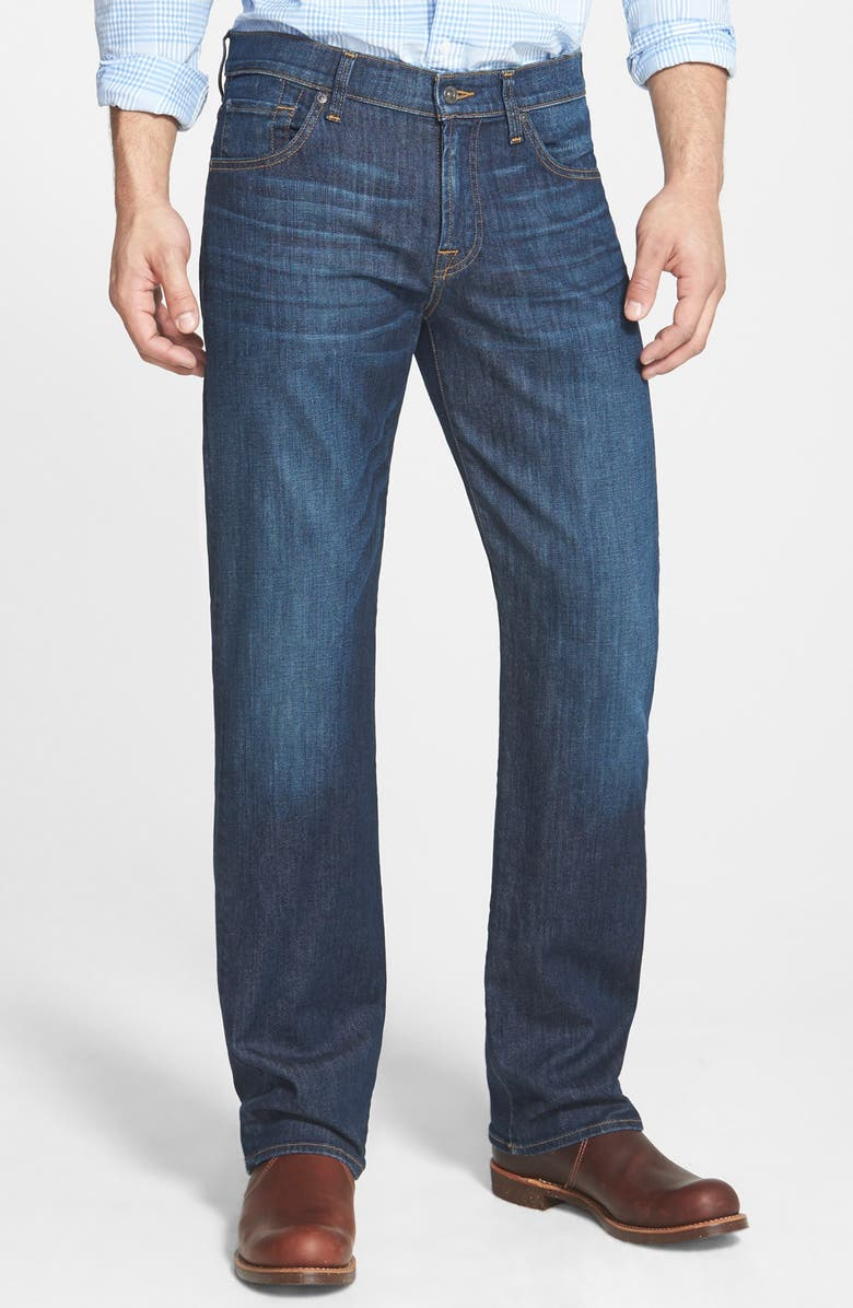 7 FOR ALL MANKIND <sup>®</sup> 'Austyn' Relaxed Straight Leg Jeans, Main, color, FIELD WASH
