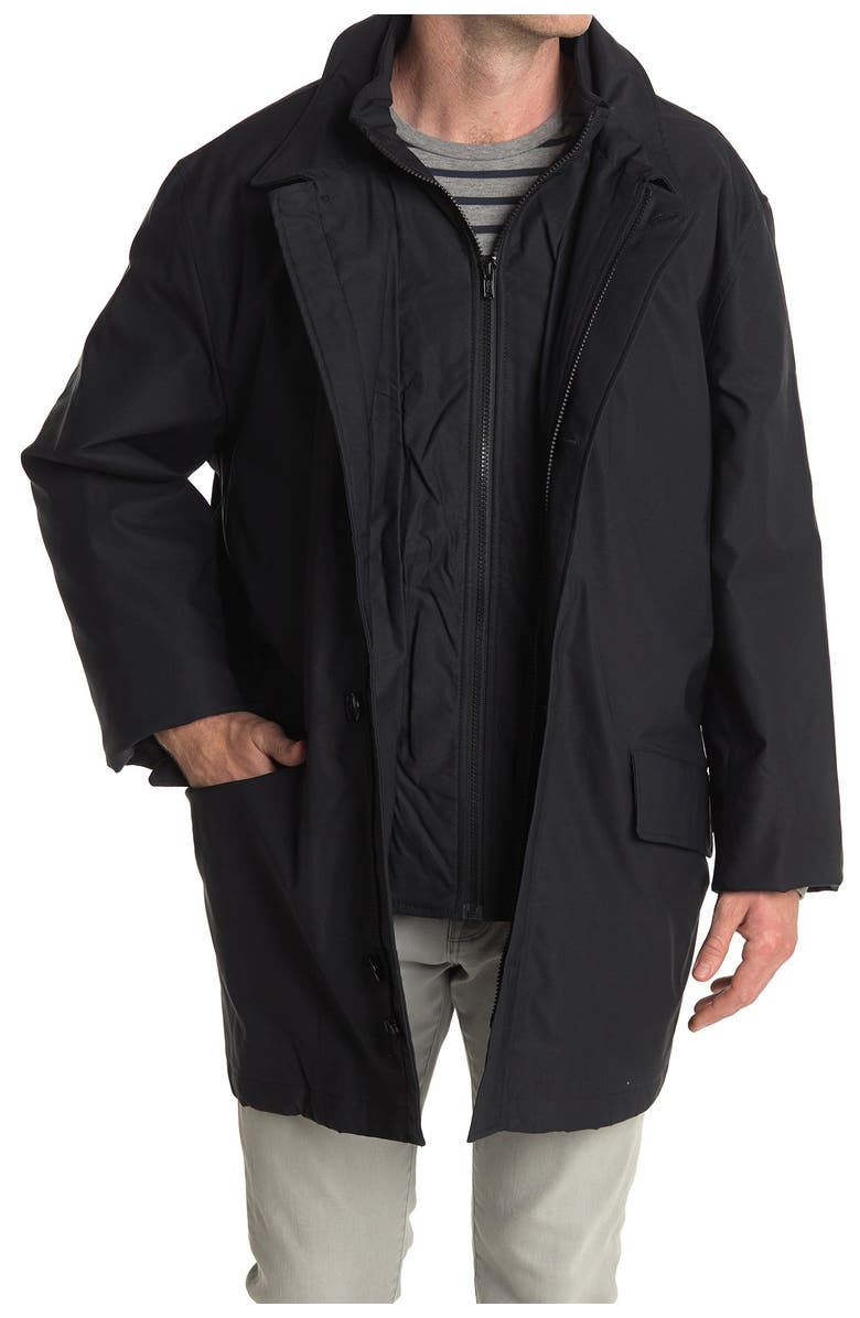 J.CREW Gilet Zip Front Insulated Jacket, Main, color, MIDNIGHT