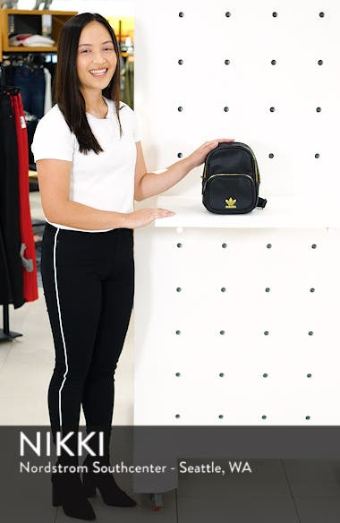 Mini Faux Leather Backpack, sales video thumbnail