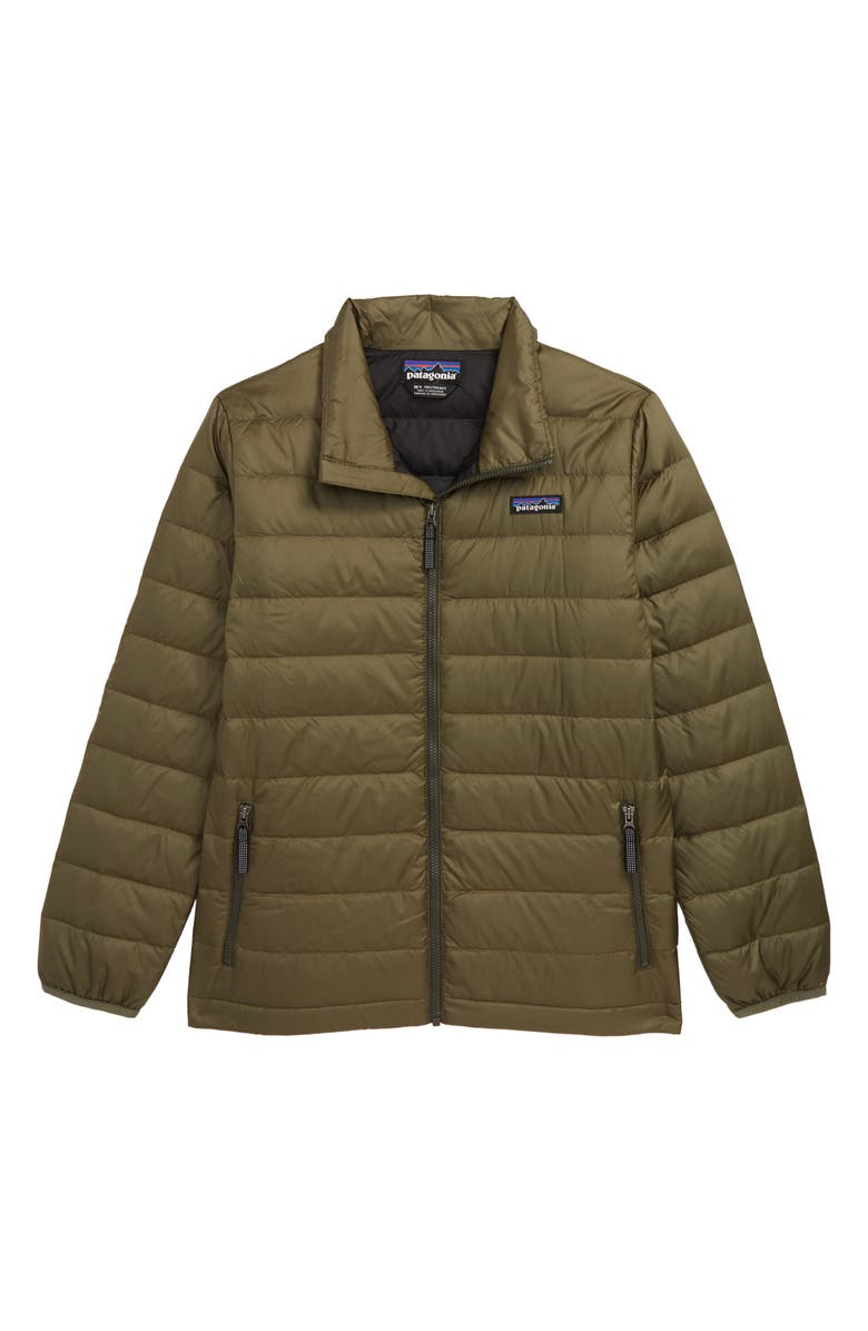 PATAGONIA Recycled 600 Fill Power Down Jacket, Main, color, 301