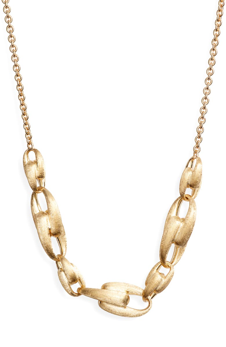 MARCO BICEGO Lucia Link Frontal Necklace, Main, color, 710