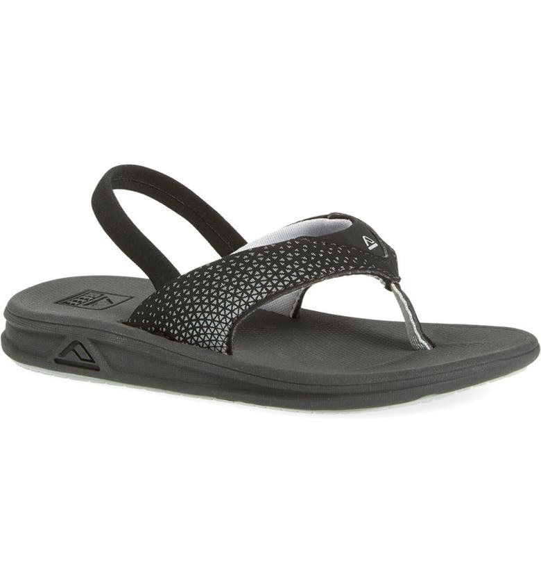 REEF 'Grom Rover' Water Friendly Sandal, Main, color, Black