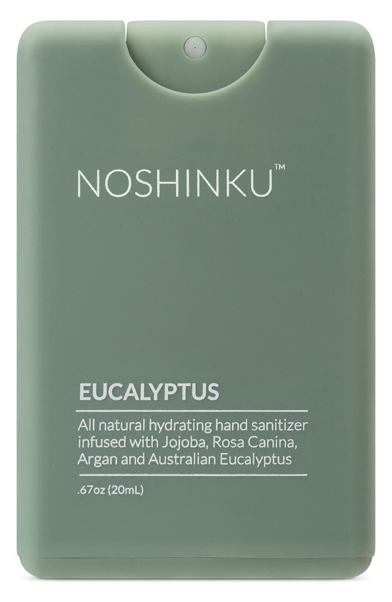 NOSHINKU Travel Size Hand Sanitizer, Main, color, EUCALYPTUS