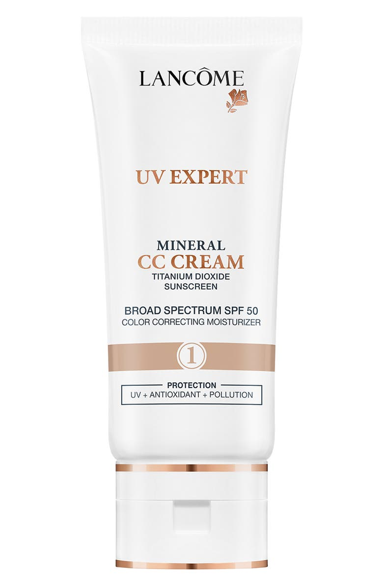 LANCÔME UV Expert Mineral CC Cream SPF 50, Main, color, SHADE 1
