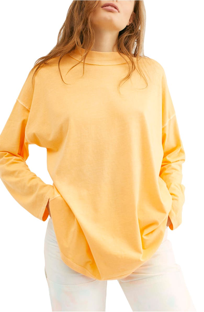 FREE PEOPLE We the Free by Free People Be Free Tunic T-Shirt, Main, color, CRUSHED