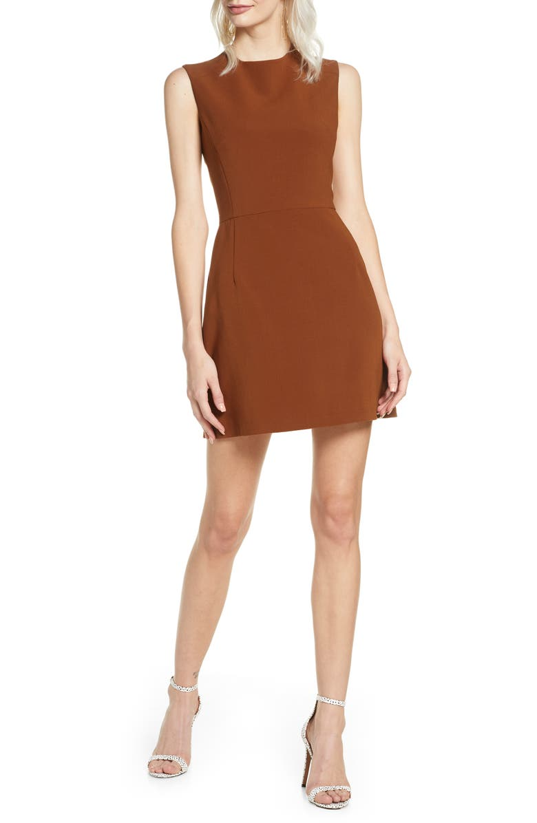 FRENCH CONNECTION Sundae Stretch Minidress, Main, color, 200