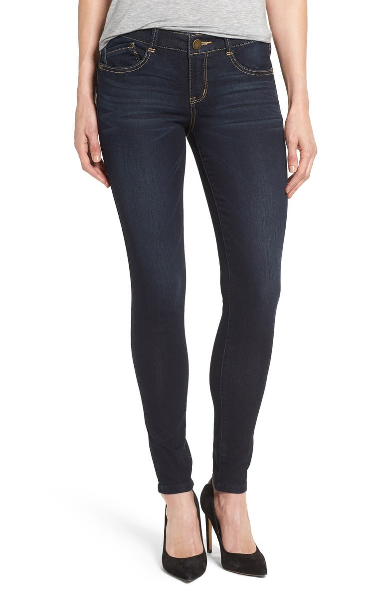 WIT & WISDOM Stretch Skinny Jeans, Main, color, 411