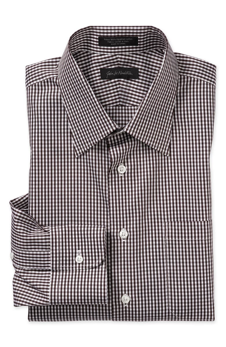 JOHN W. NORDSTROM<SUP>®</SUP> Traditional Fit Egyptian Cotton Dress Shirt, Main, color, 960