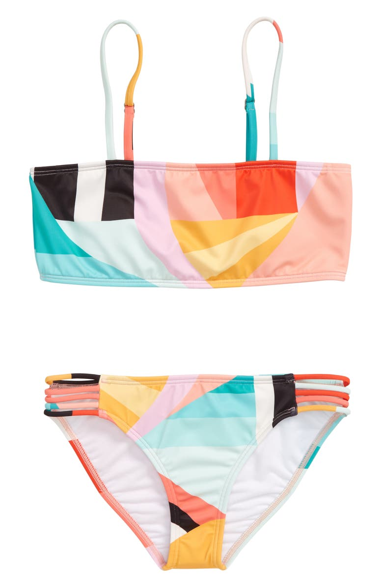 BILLABONG Easy on Me Two-Piece Swimsuit, Main, color, 001