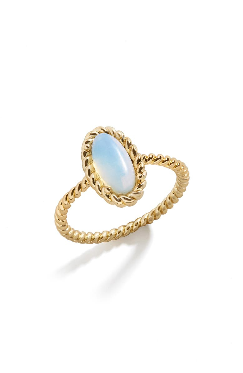 BAUBLEBAR Shelby Opal Ring, Main, color, GOLD