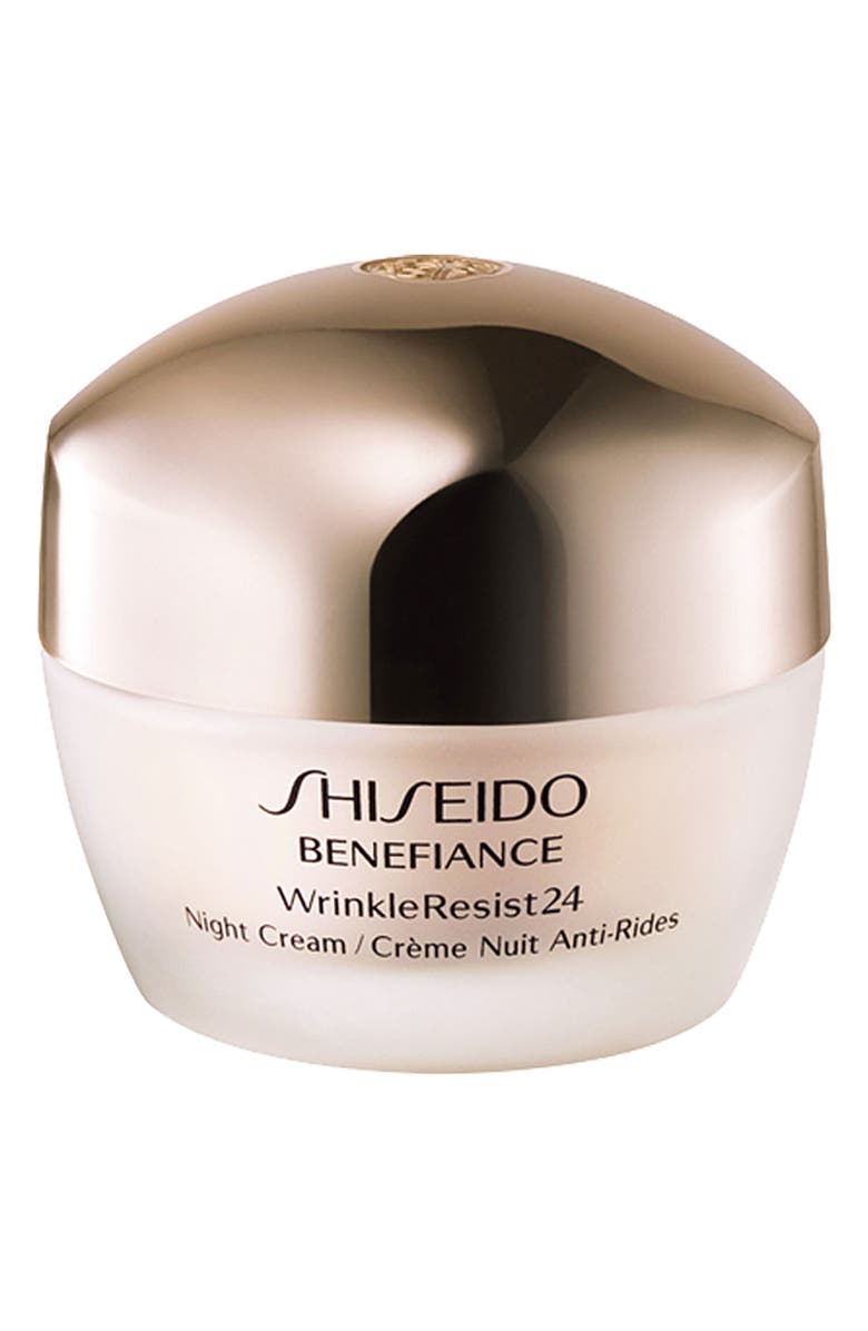 SHISEIDO Benefiance WrinkleResist24 Night Cream, Main, color, 000