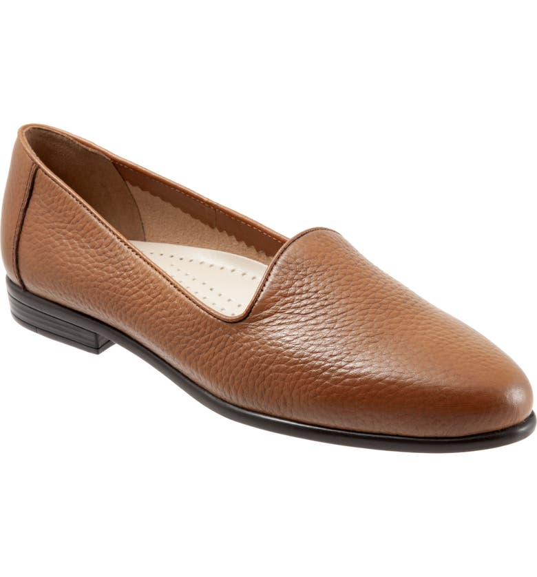 TROTTERS Liz Loafer, Main, color, TAN LEATHER