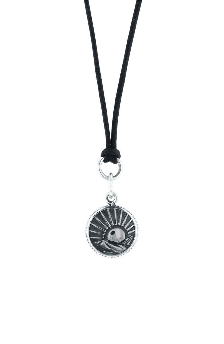 KING BABY Sun Pendant Necklace, Main, color, 040