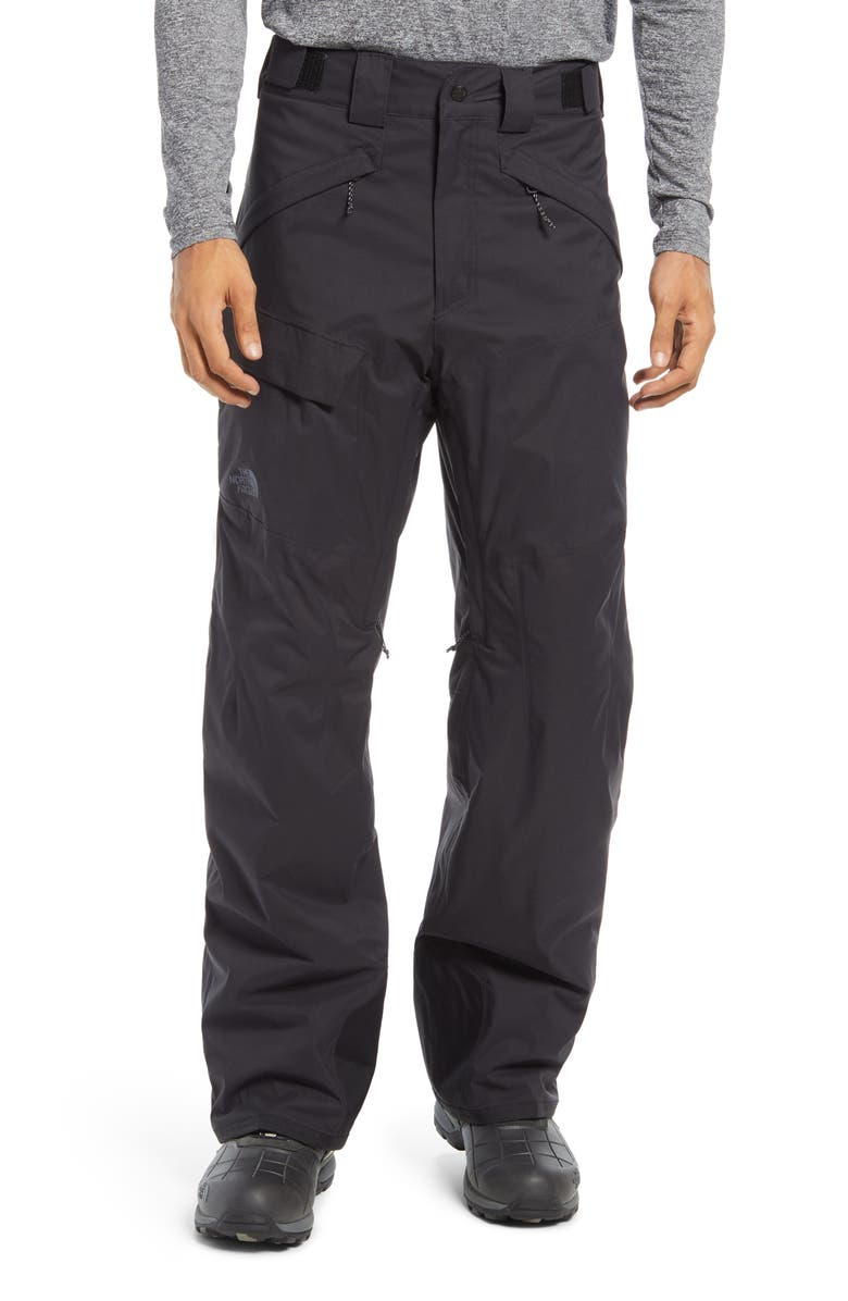 THE NORTH FACE Freedom Men's Heatseeker<sup>™</sup> Eco Insulated Snow Pants, Main, color, TNF BLACK