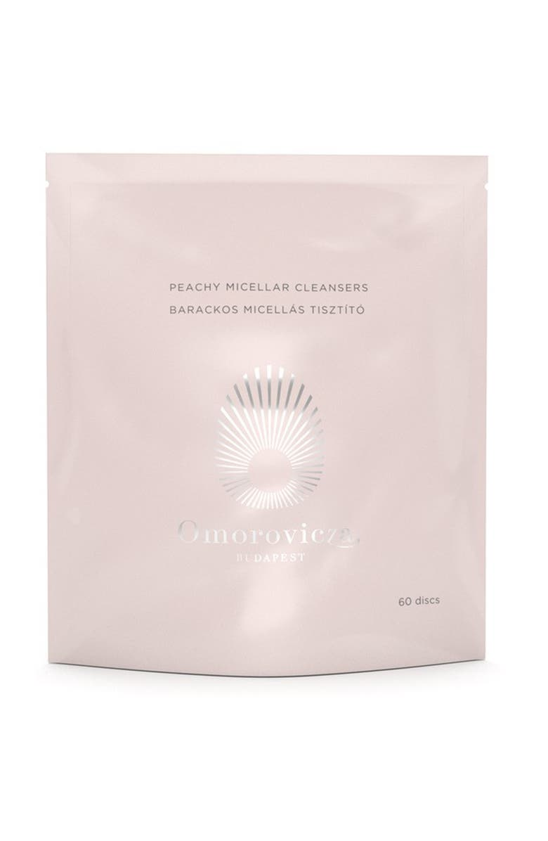 OMOROVICZA Peachy Micellar Cleansers Refill Pack, Main, color, No Color