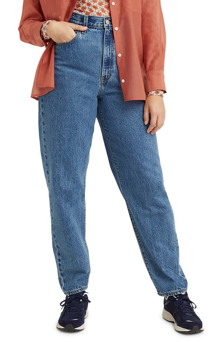 LEVI'S<SUP>®</SUP> High Waist Loose Fit Tapered Jeans, Main, color, HOLD MY PURSE