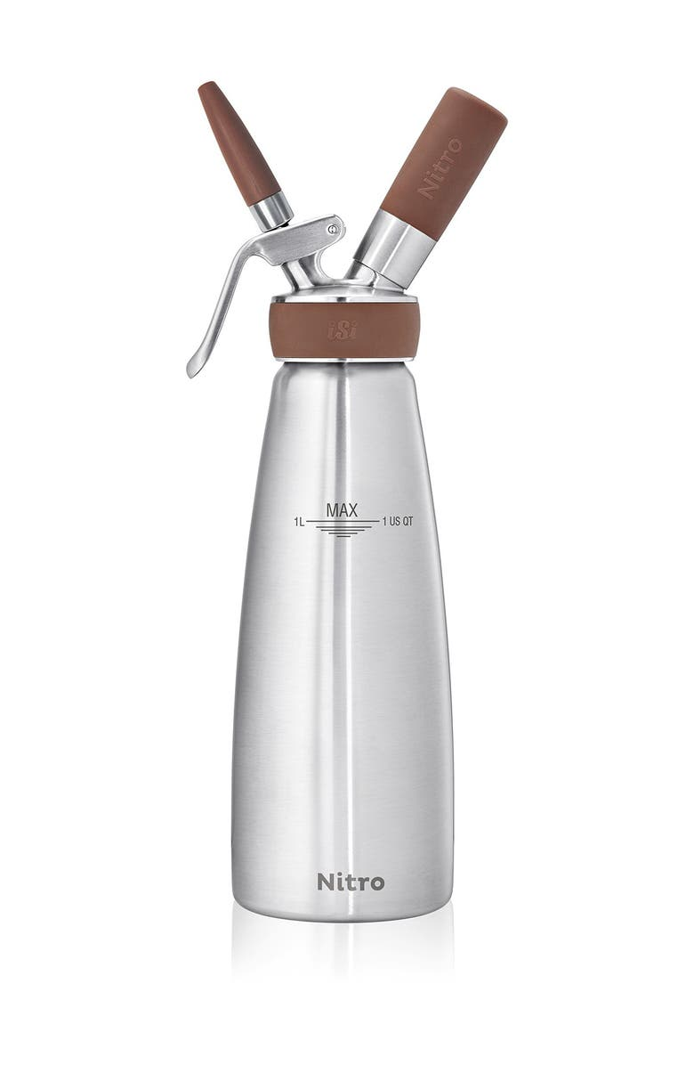 ISI Nitro Brown Stainless Steel, Main, color, STAINLESS STEEL