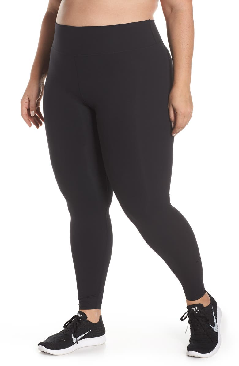 NIKE One Lux Training Tights, Main, color, 010