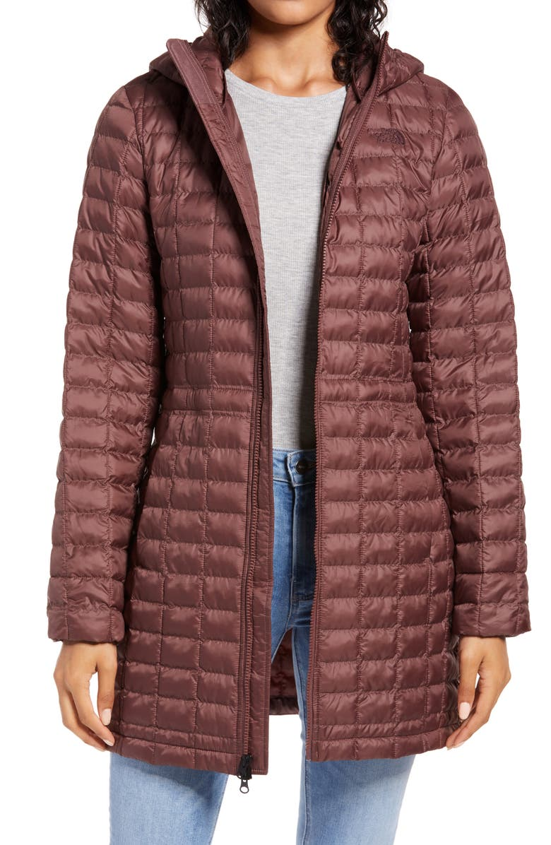 THE NORTH FACE ThermoBall<sup>™</sup> Eco Hooded Parka, Main, color, MARRON PURPLE