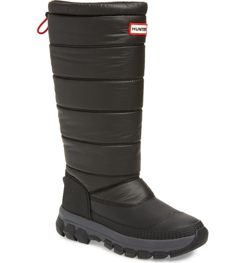 HUNTER Original Waterproof Insulated Snow Boot, Main, color, 001