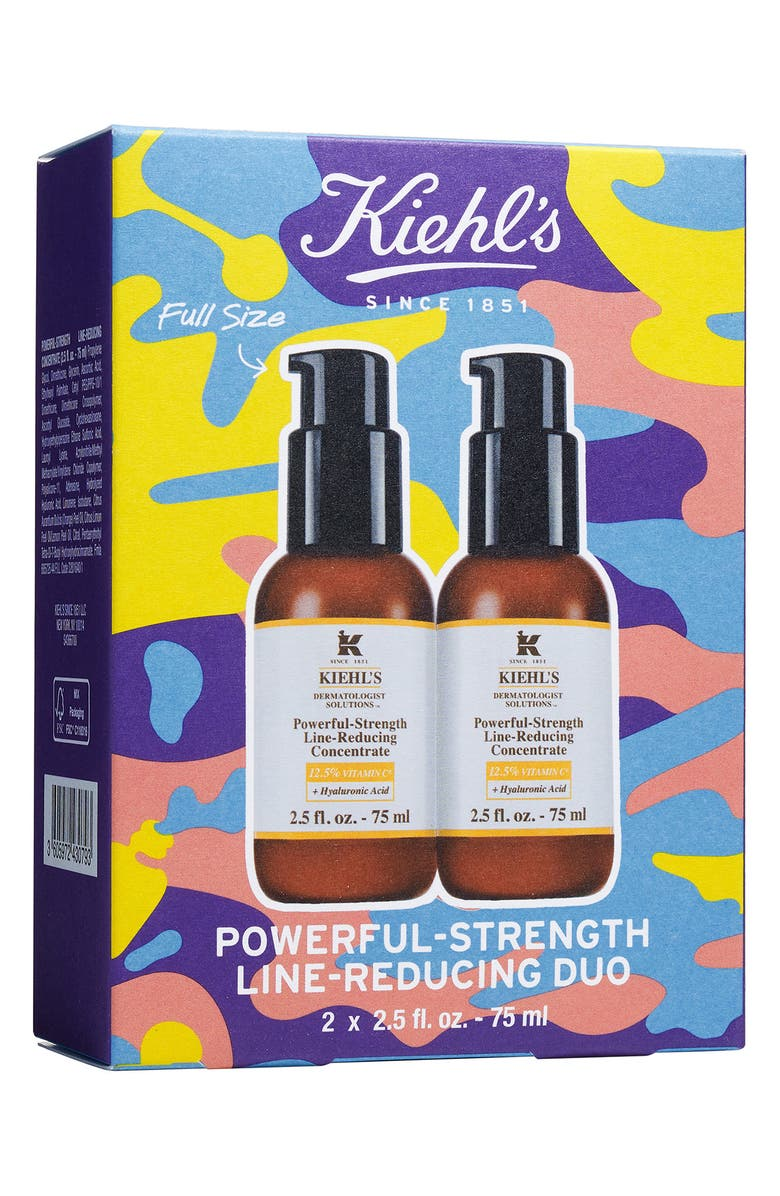 KIEHL'S SINCE 1851 Powerful-Strength Line-Reducing Concentrate Duo, Main, color, No Color