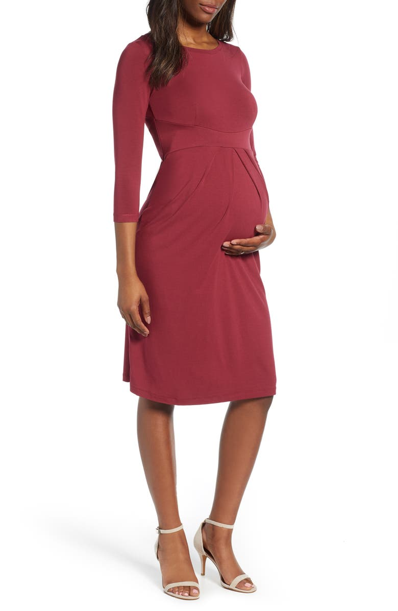 ISABELLA OLIVER Ivybridge Maternity Dress, Main, color, 650
