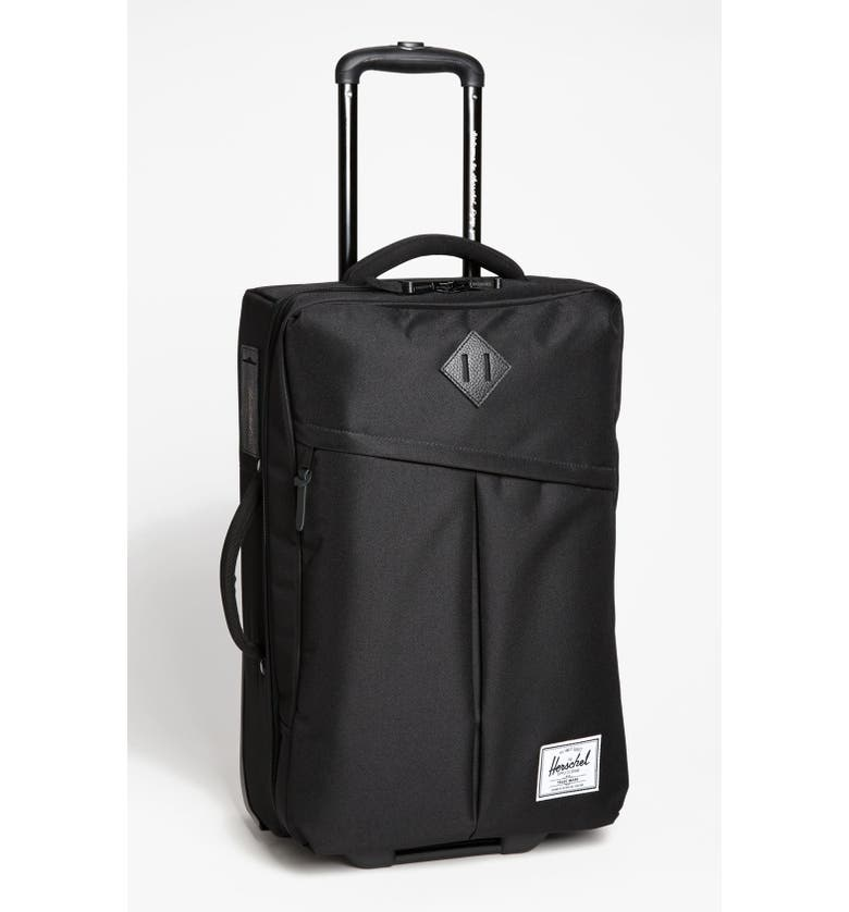 HERSCHEL SUPPLY CO. New Campaign 24-Inch Rolling Suitcase, Main, color, 001