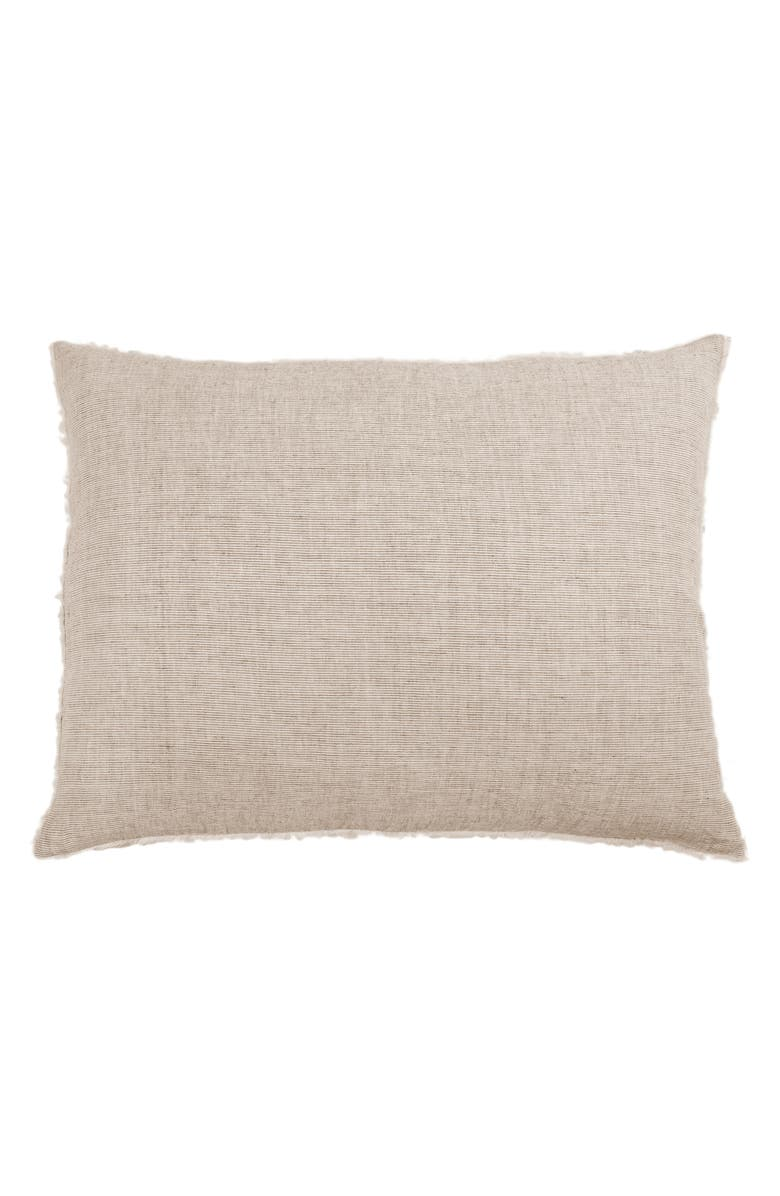 POM POM AT HOME Large Logan Accent Pillow, Main, color, TERRA COTTA